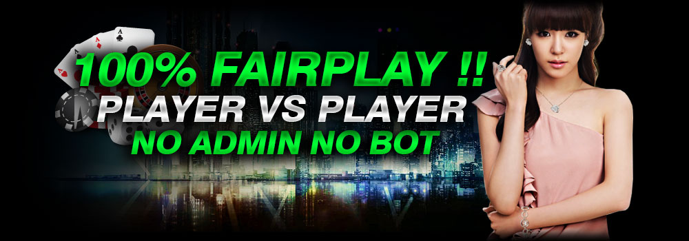 Permainan Murni Player VS Player No Robot hanya di POKERWE1